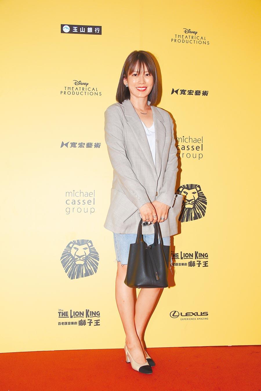 Melody昨受訪表示特別期待觀賞《獅子王》演出。(羅永銘攝)