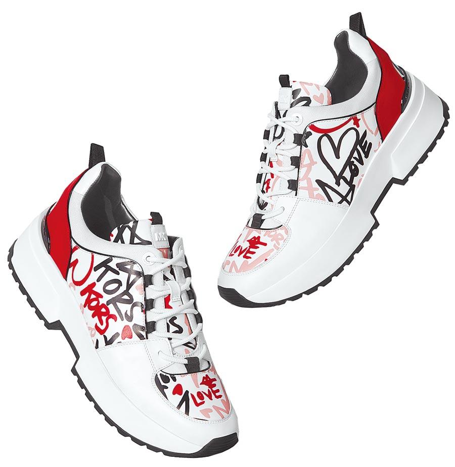 MICHAEL Michael Kors七夕塗鴉系列休閒鞋,8400元。(MICHAEL KORS提供)