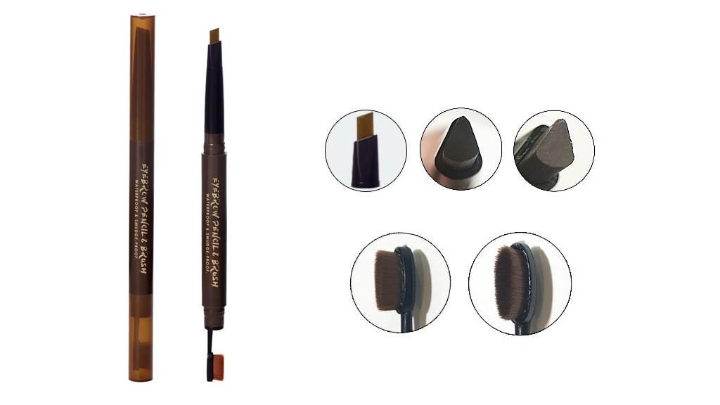 BeautyMaker完美立體持色眉膠筆細節圖。(圖/品牌提供)