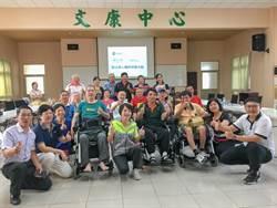議員媒合脊髓損傷協會與電動輪椅業者 傷友:可以自己去逛街了