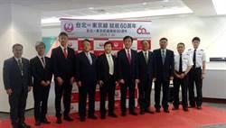 日本航空喜迎台灣-日本航線一甲子 推出日本國內線360天內五折票