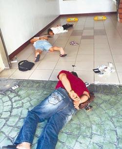 毒販拒捕開槍 警反擊9槍中3發