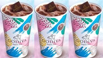 不加一滴水的滿杯鮮奶!GODIVA冰可可吃得到整片巧克力