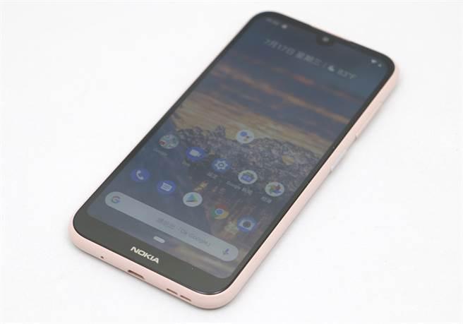 Nokia 4.2。(圖/黃慧雯攝)