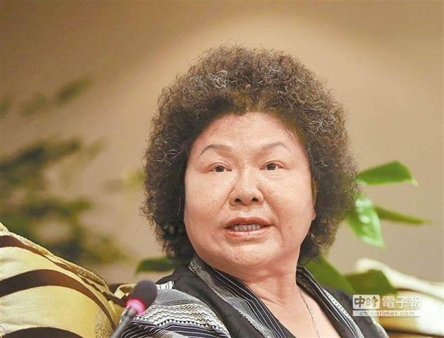 總統府秘書長陳菊。(本報系資料照)