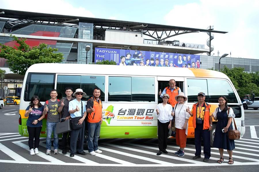 台灣觀巴推出父親節活動。(業者提供)