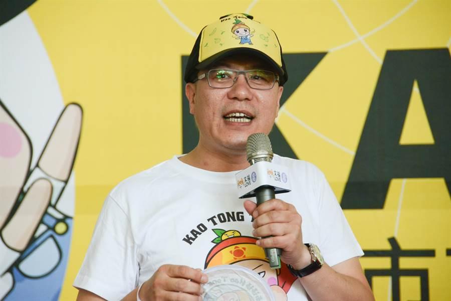 高市農業局長吳芳銘正式表態,不會參選立委,將留在高雄繼續為農民服務。(林宏聰攝)
