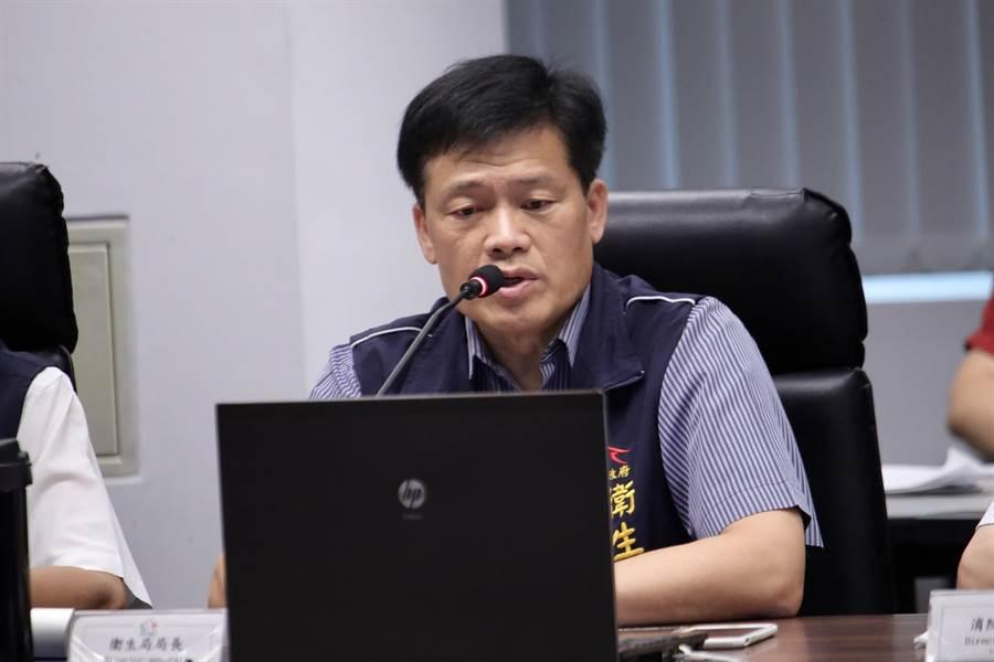 台中市衛生局長曾梓展表示,面對高齡化社會,市府推動長照ABC計畫據點布建總數達1021家,全國最多。(盧金足攝)