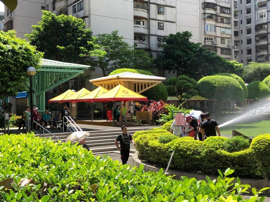 永慶房屋協辦「108年社區治安研習觀摩活動」與興安國宅消防安全活動。