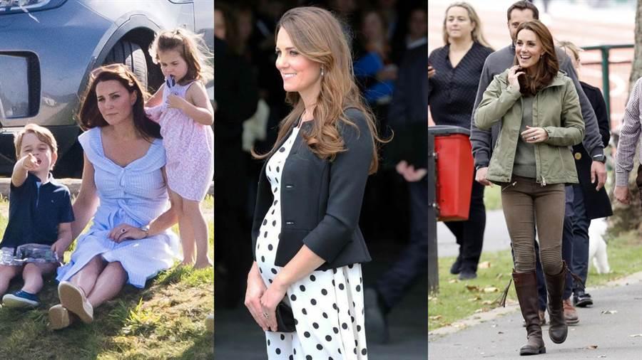 凱特經常穿著平價品牌的單品。(圖/Pinterest)