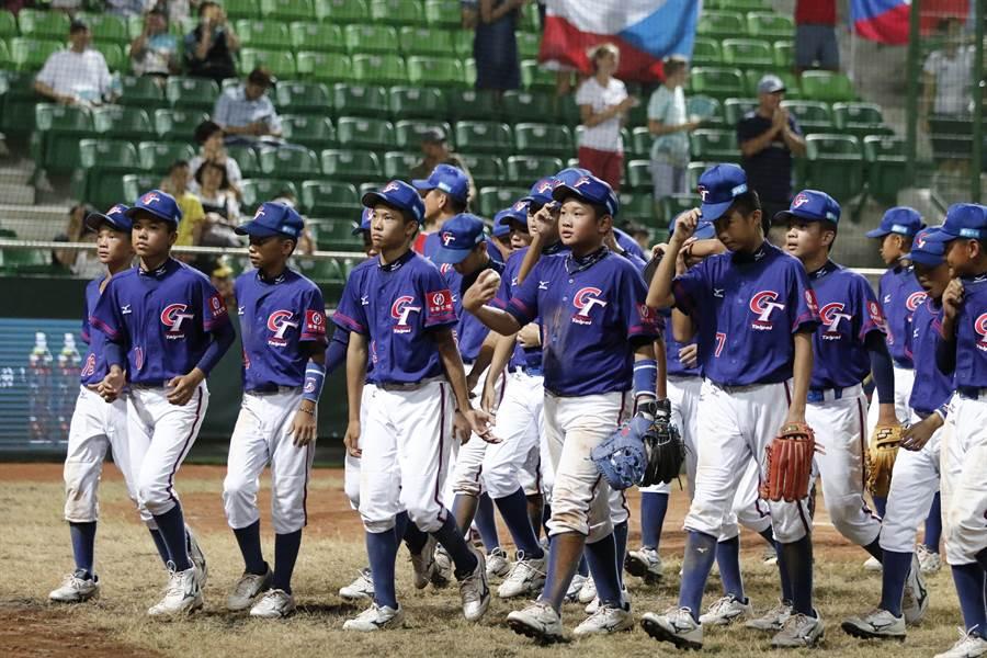中華少棒隊29日KO捷克,篤定以A組第2晉級,複賽首戰A組第1的韓國。(中華棒協提供)