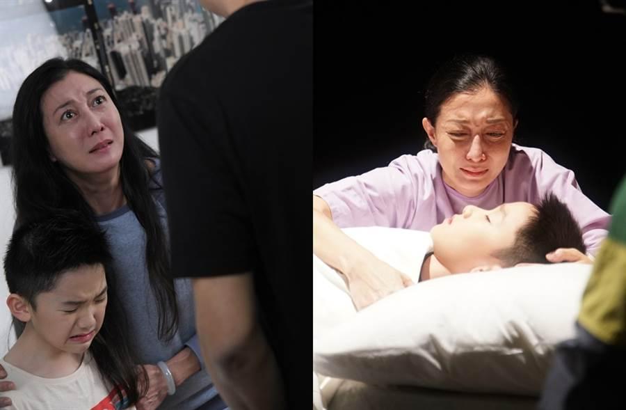 吳綺莉最近在電視劇裡飾演喪子母親。(圖/取自《on.cc東網》)