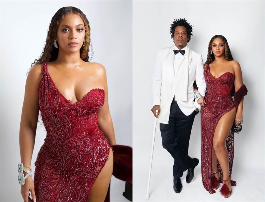 碧昂絲與老公Jay-Z一起慶祝姪女生日。(圖/IG @beyonce)