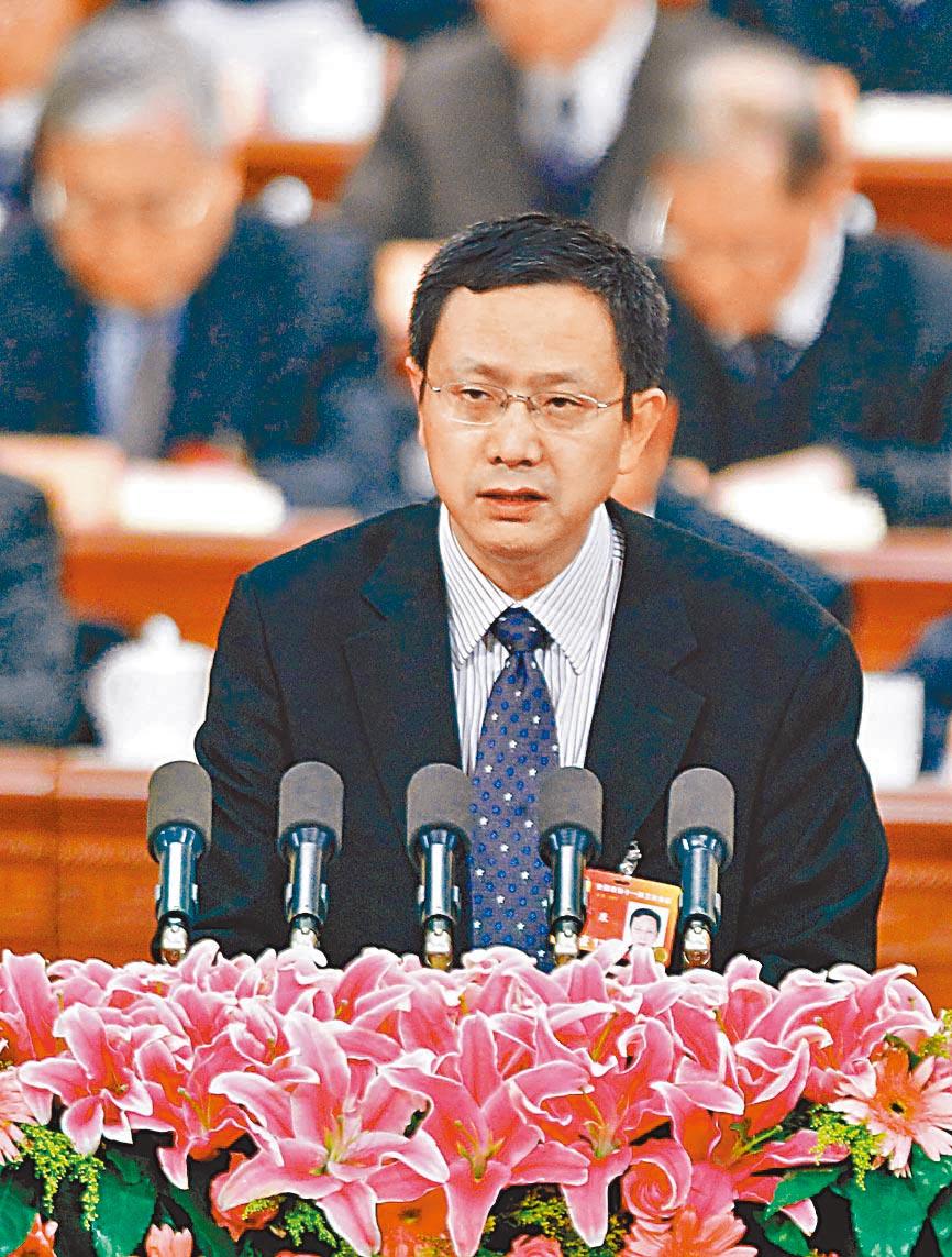 陸財政部財政科學研究所前所長賈康。(新華社資料照片)