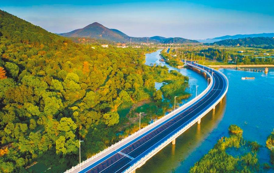 蘇州環太湖公路。