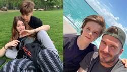 貝克漢14歲兒子「私密照外流」爆熱戀!網酸:感覺能當他媽