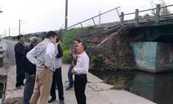 南勢溪遇雨則淹危及行人安全 市議員爭取便橋