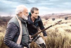 印度總理莫迪 出演荒野求生實境秀