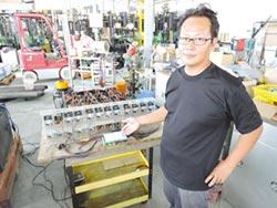 日日興貿易 出租電動堆高機電池