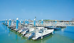 新竹漁港更亮眼 天梯之翼啟用