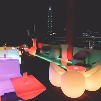 台北東區唯一空中酒吧 富裔實業「泡泡飯店hotelpoispois」開幕