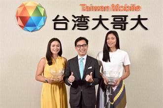 台灣大贊助近6年 雙詹帶溫網金盃拜會蔡明忠