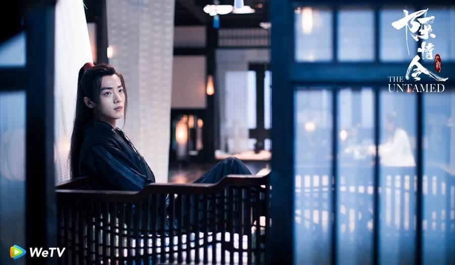 肖戰在《陳情令》飾演魏無羨。(圖/WeTV提供)