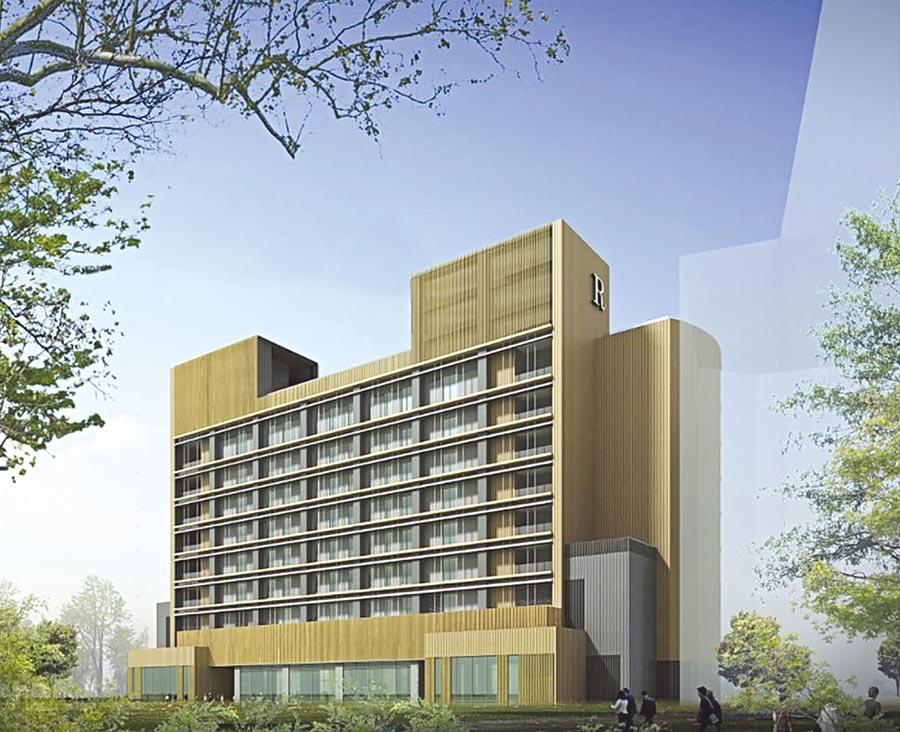 皇翔建設跨足飯店業的處女作台北士林萬麗酒店。圖/皇翔建設提供