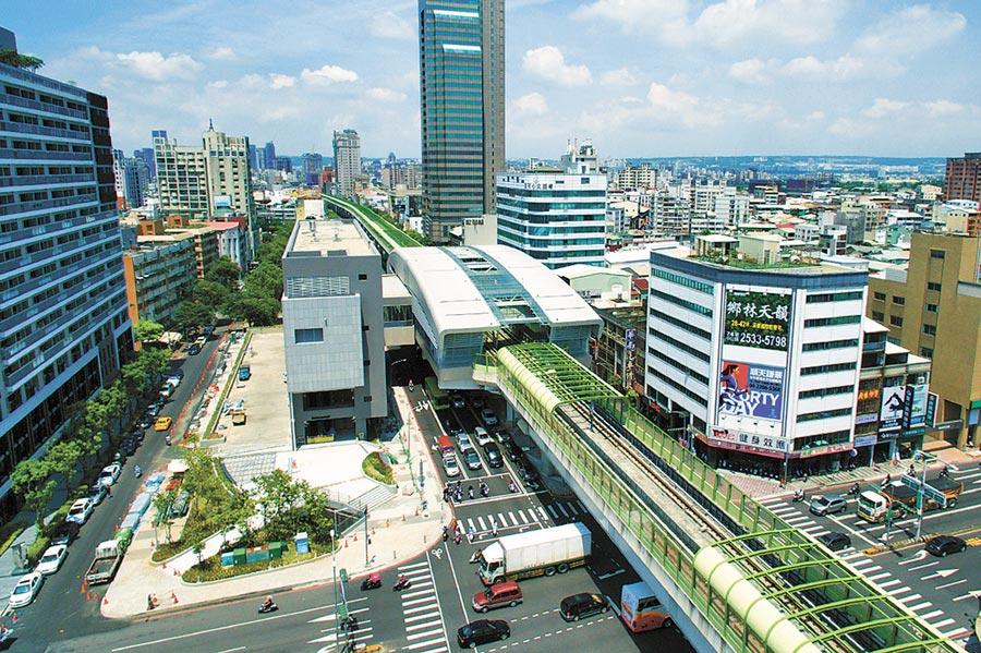 台中捷運綠線預計於明年底正式通車營運,地方爭取車站命名應符合地方特色與發展脈絡。(陳世宗翻攝)