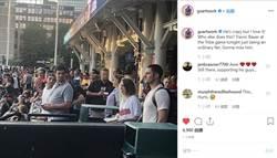 MLB》昨日被交易 包爾現身印隊觀眾席當球迷