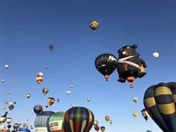 喔熊熱氣球法國升空 另類台灣之光