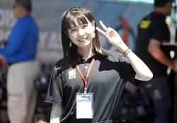 亞洲盃射箭賽》甜美正妹志工 弟弟打過台北羽球賽