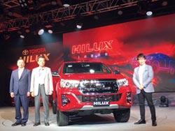 和泰車 發表HILUX運動皮卡搶市