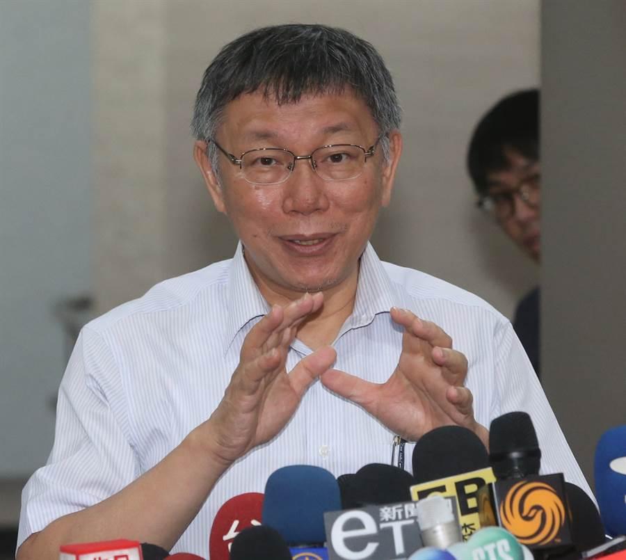 台北市長柯文哲將籌組「台灣民眾黨」,時間選在8月6日他60歲生日當天。(圖/資料照片)