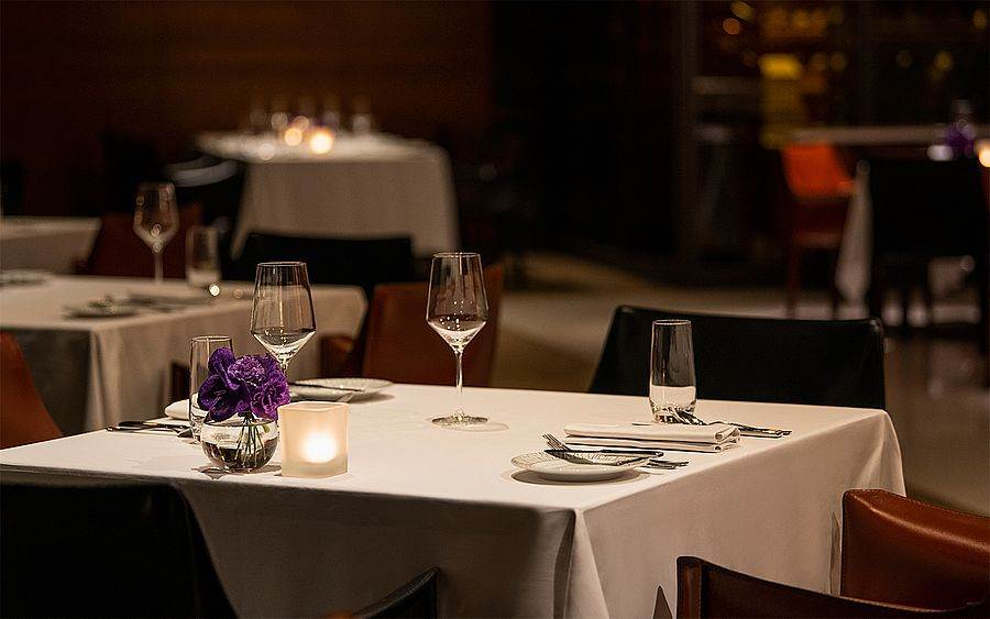 In Between之間餐廳為城市裡的唯美約會場域。(圖取自誠品行旅官網)