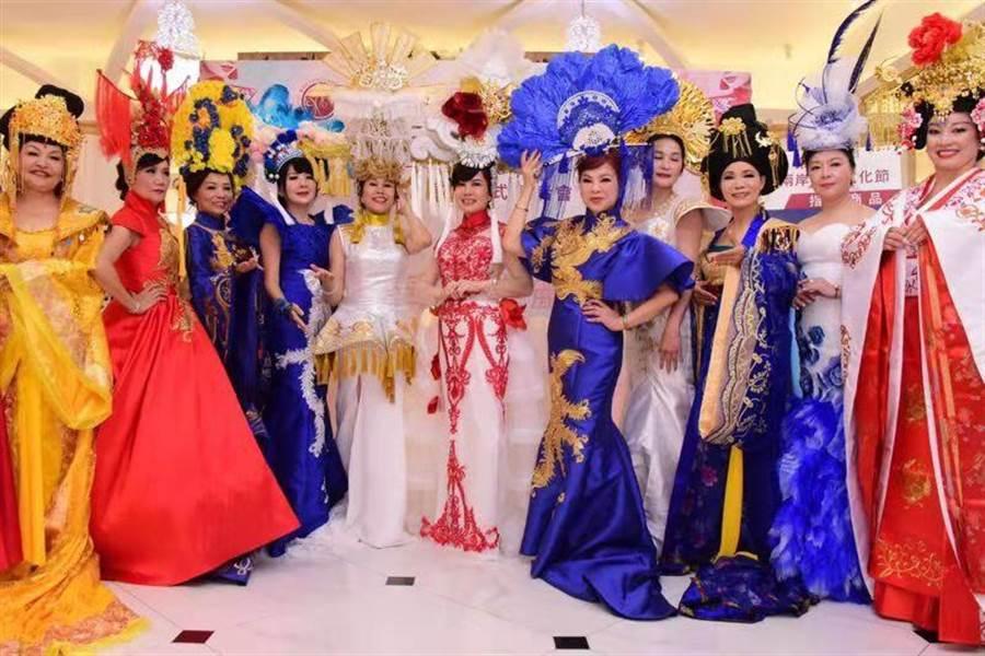第三屆「海峽兩岸旗袍文化節」啟動儀式。(主辦單位提供)