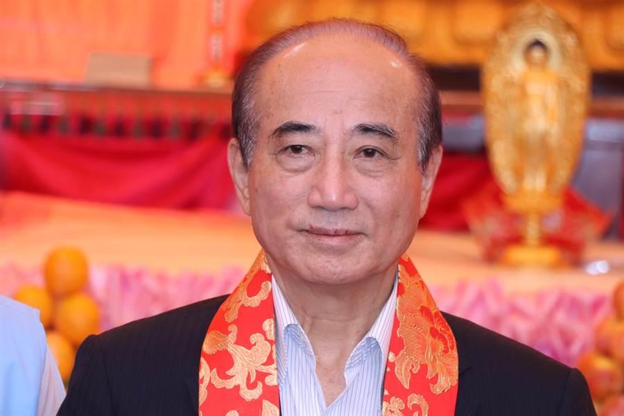 前立法院長王金平。(吳亮賢攝)
