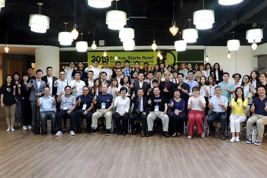 高科大新南向青年創業營孵化創業夢想。(柯宗緯翻攝)