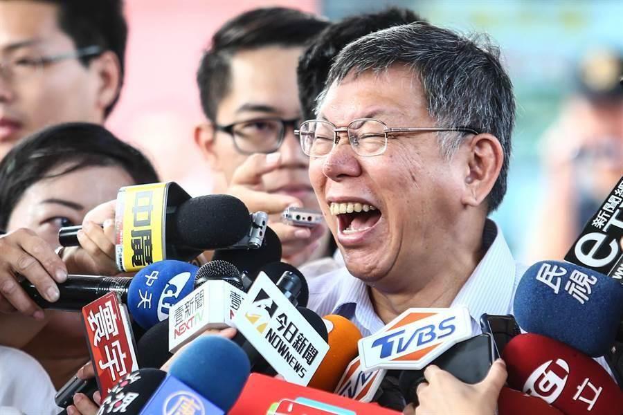 台北市長柯文哲籌組「台灣民眾黨」,為政壇投下震撼彈。(資料照片)