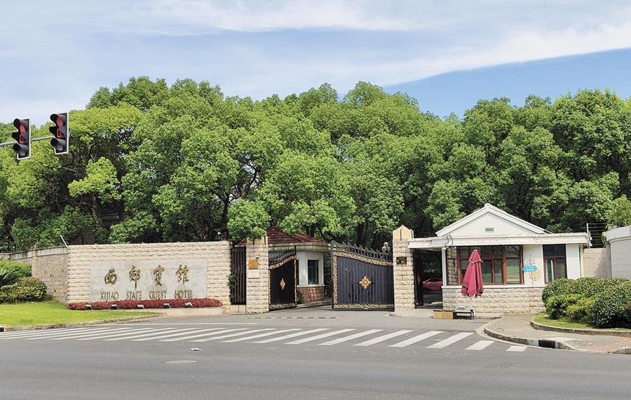 中美重啟貿易協商並首度移師上海舉行,7月31日雙方在上海西郊賓館進行會談。(記者吳泓勳攝)