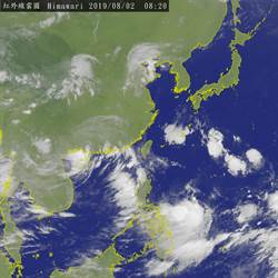 8號颱風生成!專家:下周有3~4個熱帶擾動