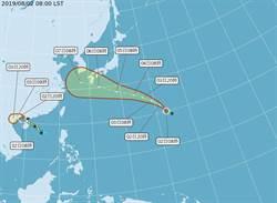8月首颱范斯高形成 下周影響日本