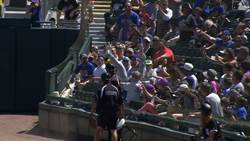 MLB》球場變馬戲團 他跳進護網獻美技