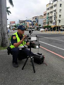 中市警結合高科技利器取締讓噪音車「走無路」