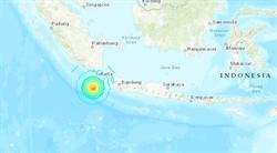印尼蘇門答臘外海6.9強震 當局發布海嘯警報