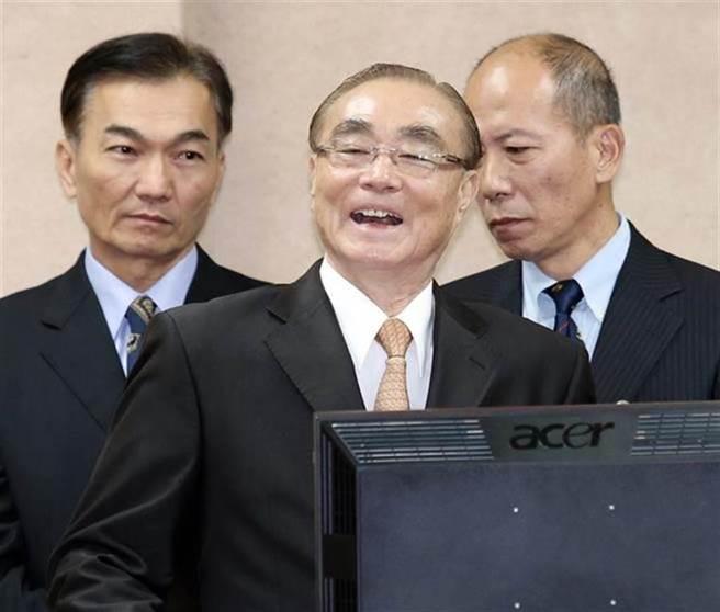 前國防部長馮世寬。(資料照片,姚志平攝)