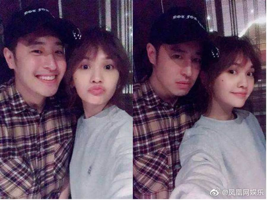潘瑋柏和楊丞琳是好麻吉。(圖/微博@鳳凰網娛樂)
