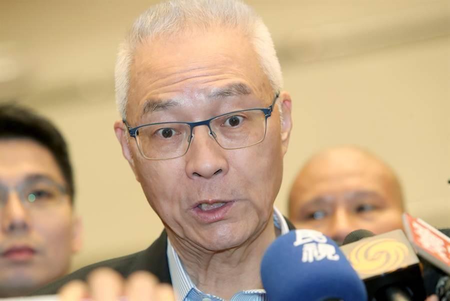 國民黨雲林縣兩個立委選區提名難產,黨主席吳敦義今天親自出面協調。(鄭任南攝)