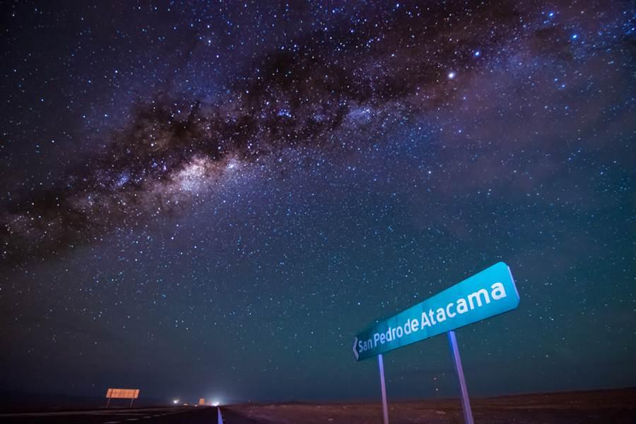 阿塔卡馬沙漠(Atacama)被譽為世界上最乾旱地方,據稱,有些地區400年來都沒有下雨紀錄。(圖/達志影像)