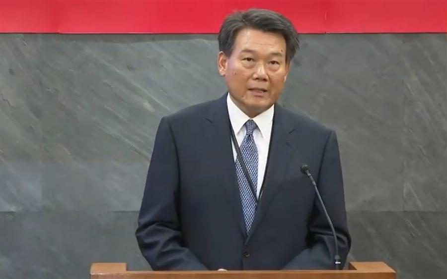 國安局政風處長劉異海說明調查結果。〈中時資料庫〉